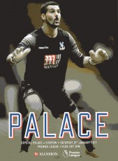 Crystal Palace                                              0-1                                              Everton