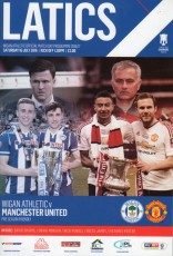 Wigan Athletic                                              0-2                                              Manchester United