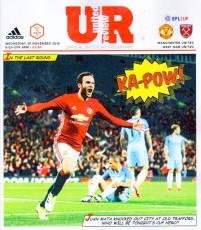 Manchester United                                              4-1                                              West Ham United