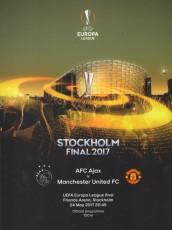 Ajax                                              0-2                                              Manchester United
