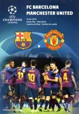 Barcelona                                              3-0                                              Manchester United