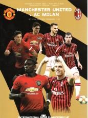 Manchester United                                              2-2                                              AC Milan