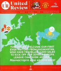 Manchester United                                              1-0                                              Astana