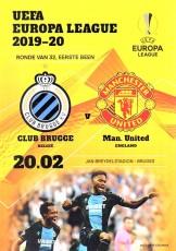 Brugge                                              vs                                              Manchester United