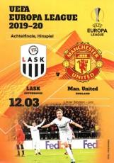 Lask                                              vs                                              Manchester United