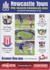 Newcastle Town                                              1-1                                              Stoke City