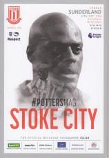 Stoke City                                              2-0                                              Sunderland
