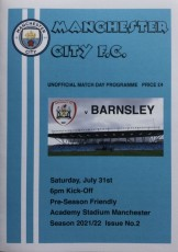 Manchester City                                              vs                                              Barnsley