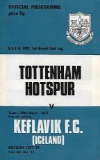 Tottenham Hotspur                                              vs                                              Keflavik