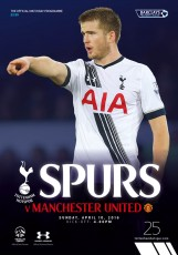 Tottenham Hotspur                                              3-0                                              Manchester United