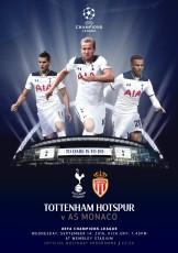 Tottenham Hotspur                                              vs                                              Monaco