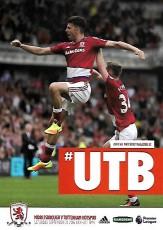 Middlesbrough                                              vs                                              Tottenham Hotspur