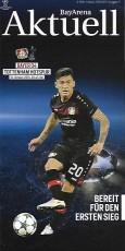 Bayer Leverkusen                                              0-0                                              Tottenham Hotspur