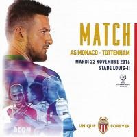 Monaco                                              vs                                              Tottenham Hotspur