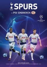 Tottenham Hotspur                                              vs                                              PSV Eindhoven