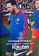 Barcelona                                              vs                                              Tottenham Hotspur