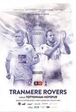 Tranmere Rovers                                              vs                                              Tottenham Hotspur