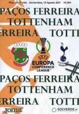 Pacos de Ferreira                                              vs                                              Tottenham Hotspur