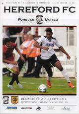 Hereford FC                                              vs                                              Hull City