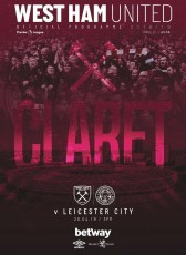 West Ham United                                              vs                                              Leicester City