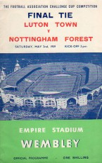 Luton Town                                              vs                                              Nottingham Forest