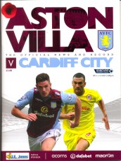 Aston Villa                                              vs                                              Cardiff City