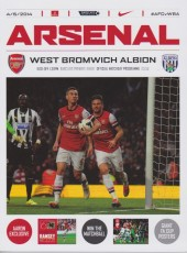 Arsenal                                              1-0                                              West Bromwich Albion