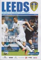 Leeds United                                              vs                                              Accrington Stanley