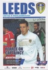 Leeds United                                              vs                                              Middlesbrough