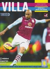 Aston Villa                                              vs                                              Queens Park Rangers