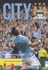 Manchester City                                              2-0                                              Watford
