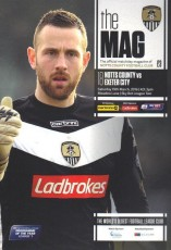 Notts County                                              vs                                              Exeter City