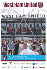 West Ham United                                              vs                                              Bournemouth