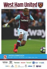 West Ham United                                              vs                                              Middlesbrough