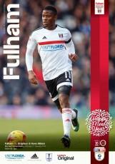 Fulham                                              1-2                                              Brighton & Hove Albion