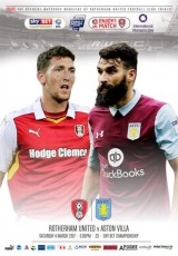 Rotherham United                                              vs                                              Aston Villa