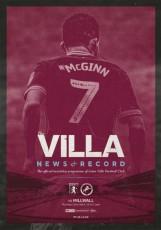 Aston Villa                                              vs                                              Millwall