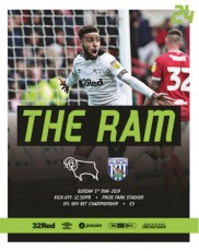 Derby County                                              vs                                              West Bromwich Albion