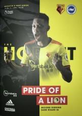 Watford                                              0-3                                              Brighton & Hove Albion