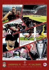 Liverpool                                              vs                                              Red Bull Salzburg
