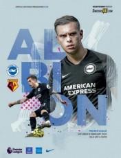 Brighton & Hove Albion vs Watford