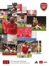 Arsenal                                              vs                                              Tottenham Hotspur