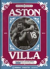 Aston Villa                                              vs                                              Leyton Orient