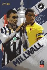 Millwall                                              1-0                                              Watford