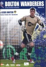 Bolton Wanderers                                              vs                                              Leeds United